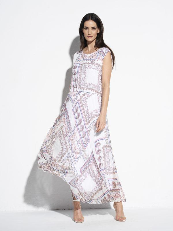 Piękna długa, zwiewna sukienka od EZURI