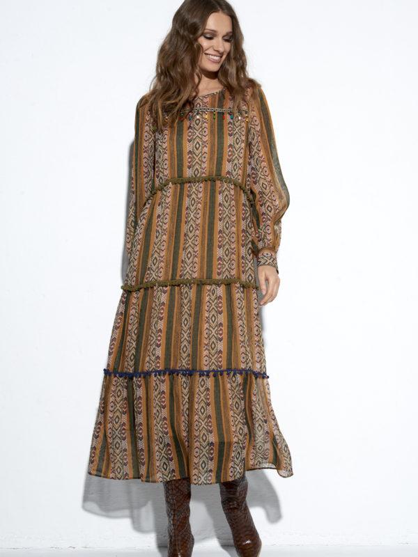 Sukienka boho Kleopatra.
