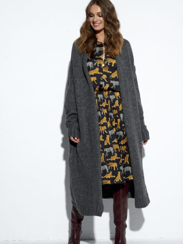 Szary sweter EZURI