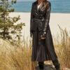 Spódnica plisowana czarna