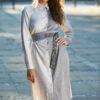Dwu-kolorowa sukienka