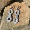 Kolczyki łańcuchy